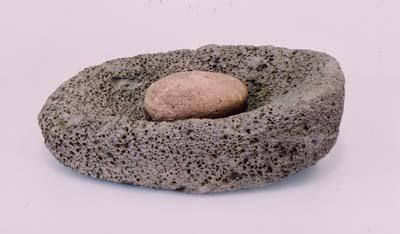 石皿と磨り石 | 横須賀市自然・...